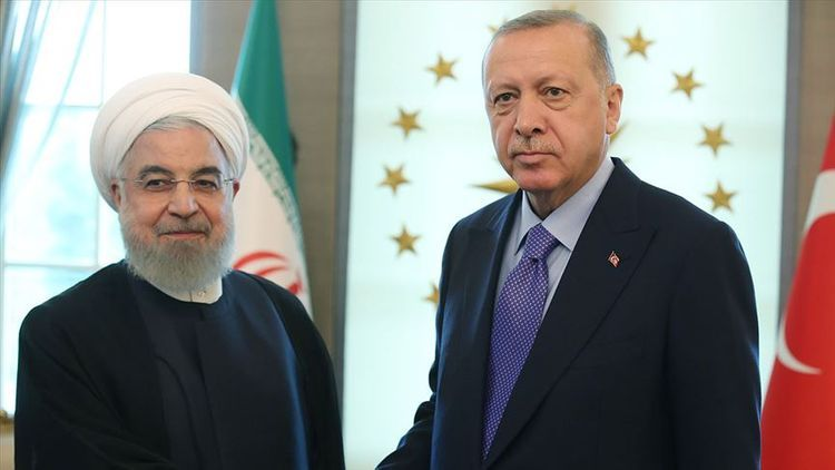 Erdogan stressed  to Rouhani it is important to stand at a point that distinguishes right and wrong, as well as occupied and occupying sides in Katabakh issue