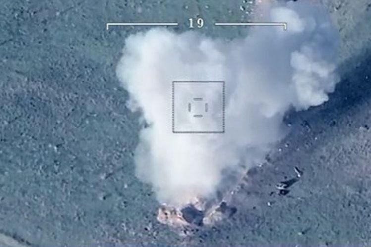 Азербайджанская армия нанесла удары по врагу - ВИДЕО