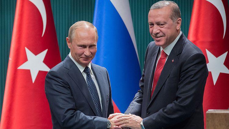 Путин: С таким партнером, как Эрдоган, приятно и надежно работать