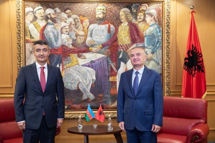 "Albanian President: ""We support Azerbaijan's territorial integrity"""