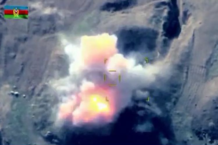 Azerbaijani MoD: Enemy forces and equipment were destroyed, their positions have been struck - VIDEO