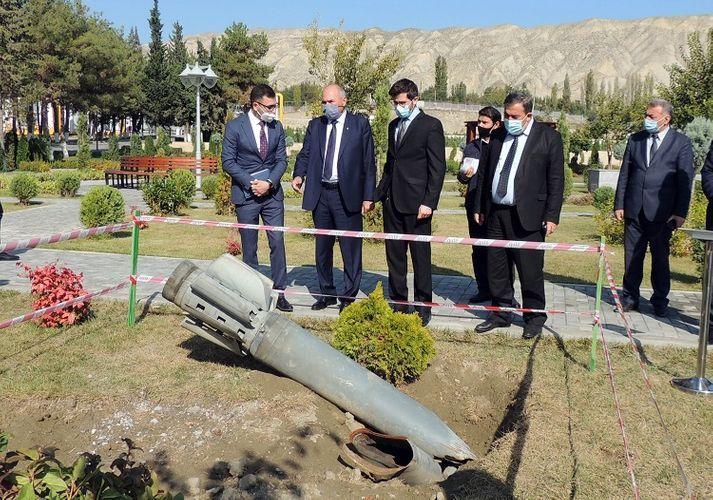 Israeli ambassador to Azerbaijan visits  power plants in Mingachevir