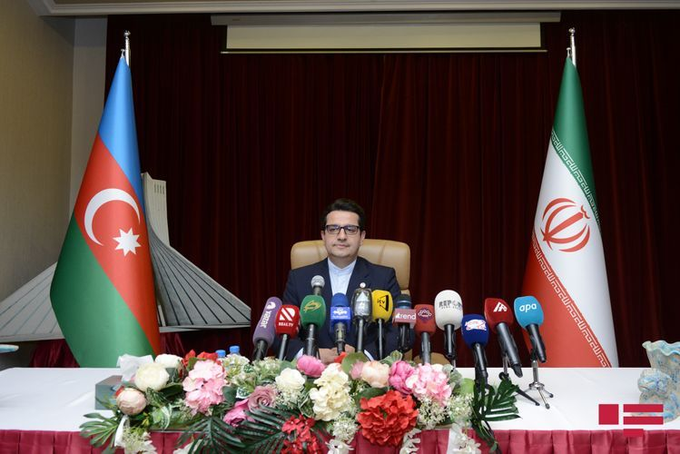 """Ambassador: """"Iran-Azerbaijan border will remain a border of friendship, peace and security for two neighboring peoples"""""""