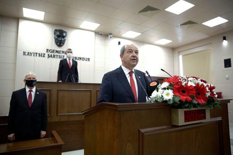 Состоялась инаугурация 5-го президента Северного Кипра