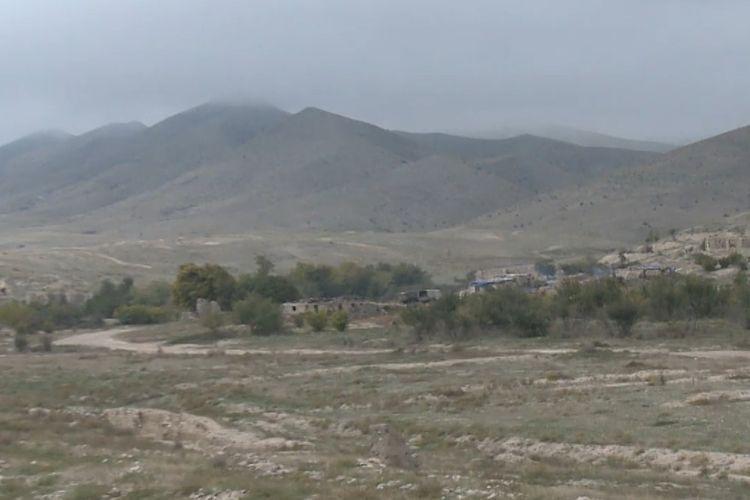 Освобожденное от оккупации село Минбашилы Джабраильского района - ВИДЕО