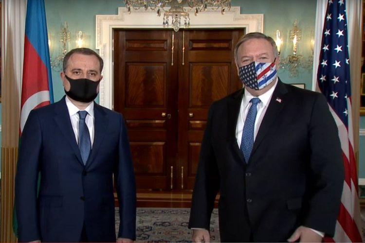 Azerbaijani FM meets with Mike Pompeo in Washington - UPDATED