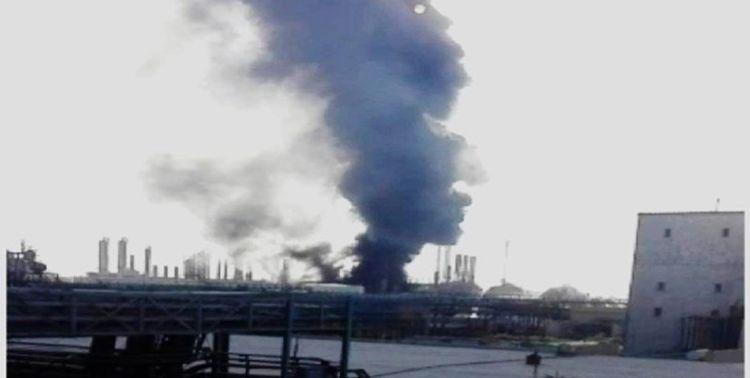 İranda neft kimya zavodunda partlayış və yanğın baş verib