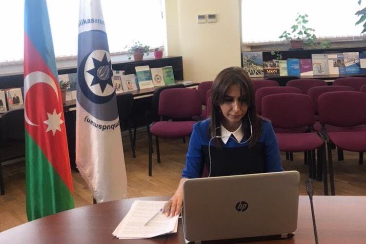 Ombudsman Aparatının nümayəndəsi Beynəlxalq Miqrasiya Təşkilatının onlayn tədbirində iştirak edib
