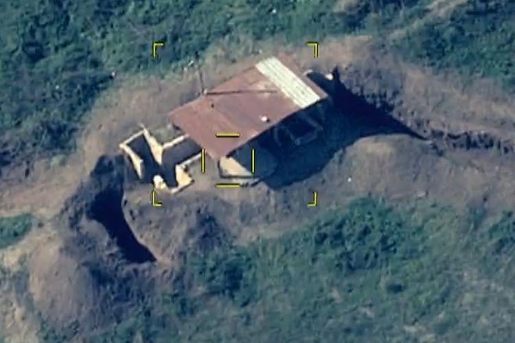 MN: Düşmənin artilleriya bölmələri və komanda məntəqəsi məhv edilib - VİDEO