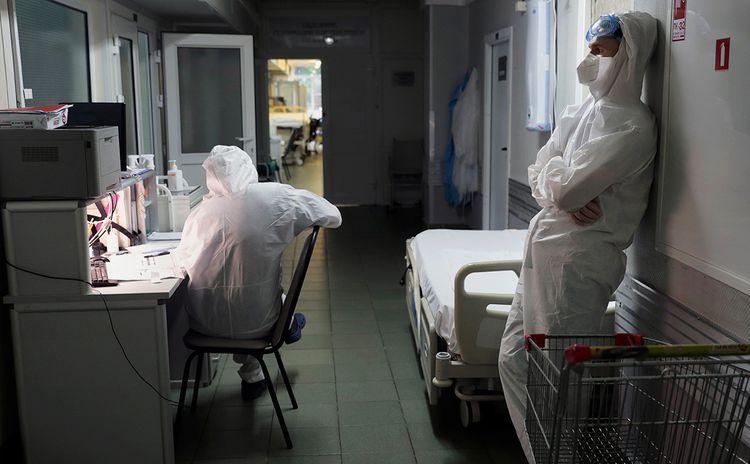 В Москве за сутки умерли 63 пациента с коронавирусом