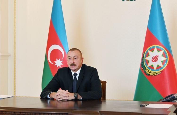 Президент Ильхам Алиев дал интервью французской газете Le Figaro