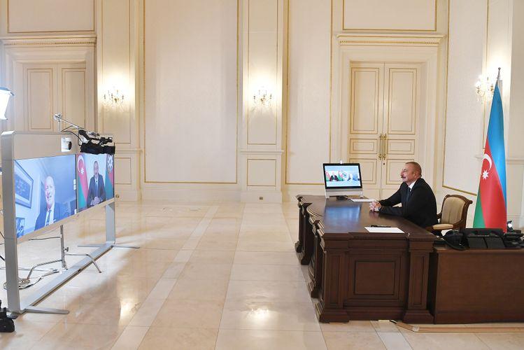 """Prezident İlham Əliyev: """"Biz nəinki enerji üzrə, eyni zamanda, daşımalar üzrə artıq regional haba çevrilmişik"""""""