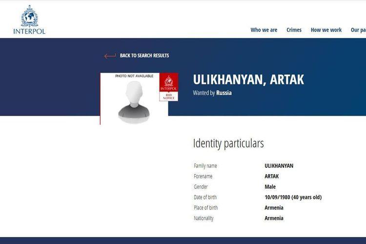 Russia put on international wanted list Armenian acused of homicide
