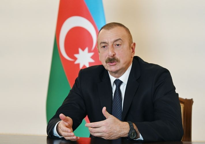 Президент Ильхам Алиев: Турция никоим образом не вовлечена в конфликт