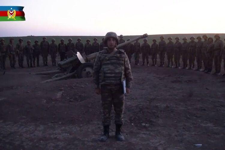Боевой настрой Азербайджанской Армии высок - ВИДЕО