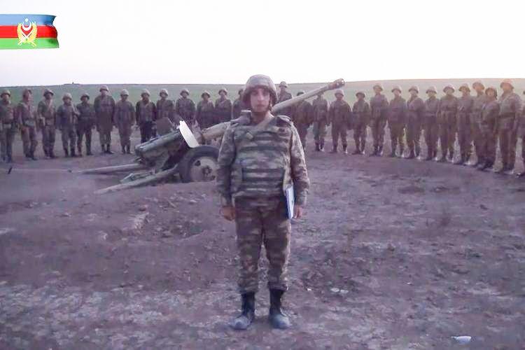 Azərbaycan Ordusunun döyüş əhval-ruhiyyəsi yüksəkdir - VİDEO