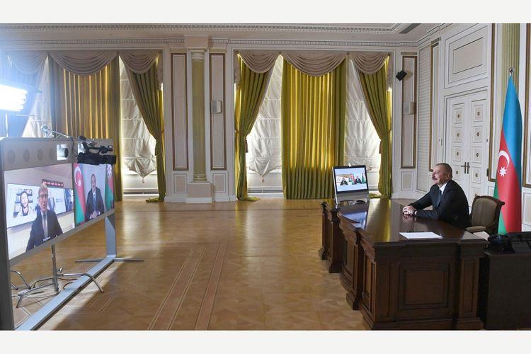 """Prezident İlham Əliyev ABŞ-ın """"Fox News"""" televiziya kanalına müsahibə verib"""
