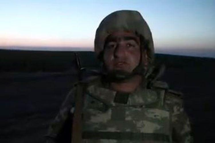 Азербайджанские военнослужащие: Наш трехцветный флаг будет развеваться на всех наших оккупированных землях – ВИДЕО