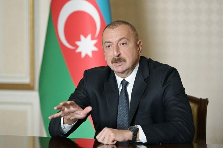 """Prezident İlham Əliyev: """"Türkiyə Azərbaycana siyasi dəstək verir"""""""