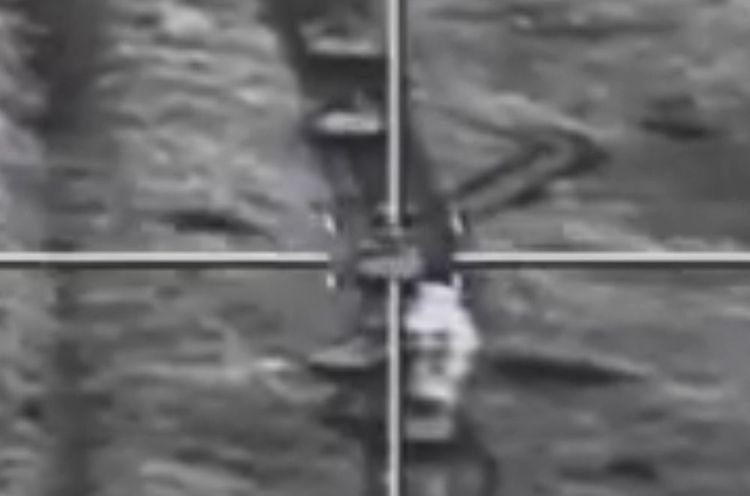 Азербайджанская Армия применяет высокоточное оружие против врага - ВИДЕО