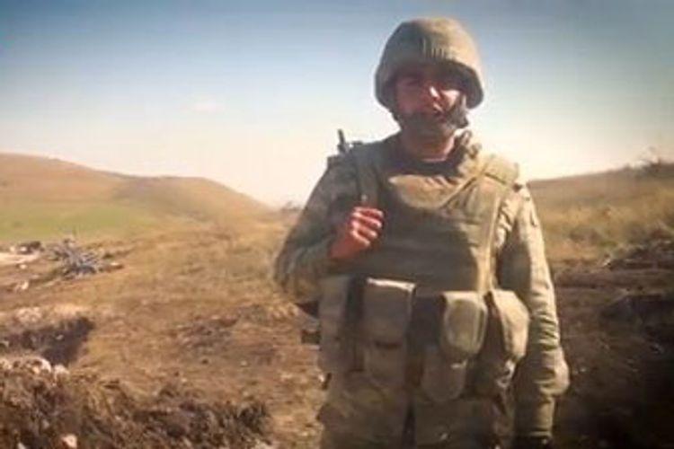 Лейтенант азербайджанской армии: Боевой дух всего личного состава подразделения высок
