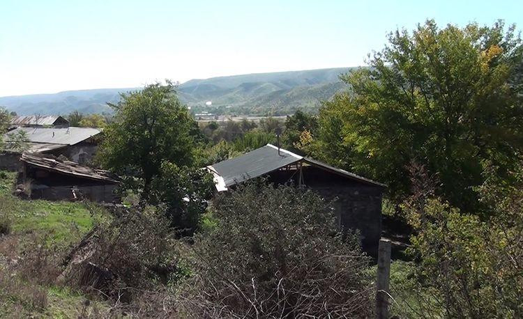 Qubadlının işğaldan azad olunan kəndlərinin videogörüntüsü