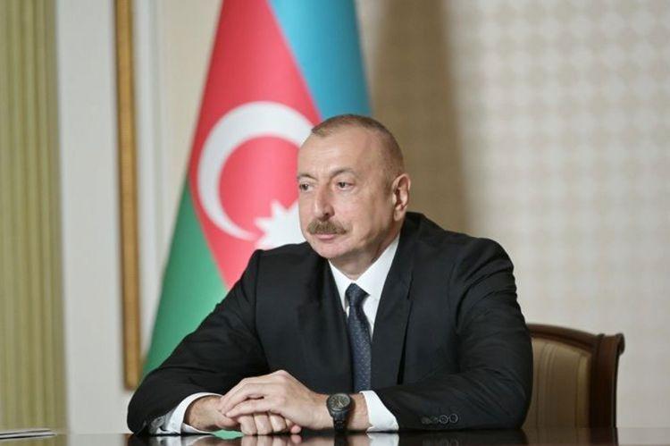 Президент Ильхам Алиев: Решение основывается на территориальной целостности Азербайджана