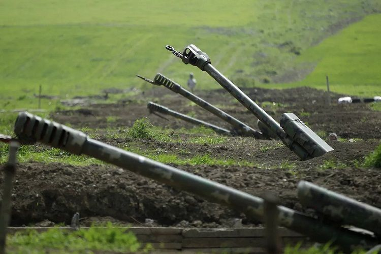 MoD: Armenian Armed Forces artillery fire on Azerbaijani Army units in Safiyan village of Lachin
