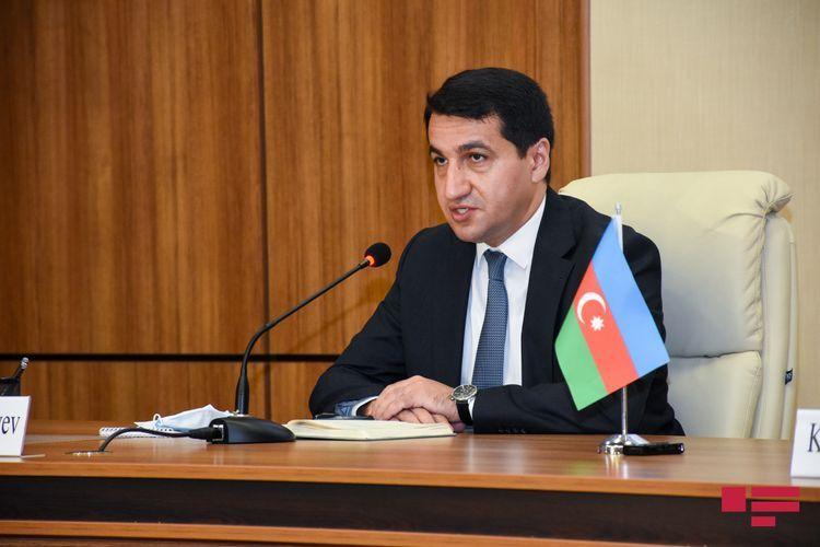 """Hikmat Hajiyev: """"PM of Armenia is lying over again"""""""