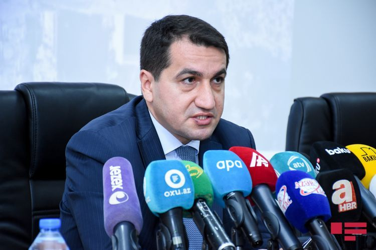 Presidential aide makes statement on the use of Azerbaijani Army uniforms by the Armenian side
