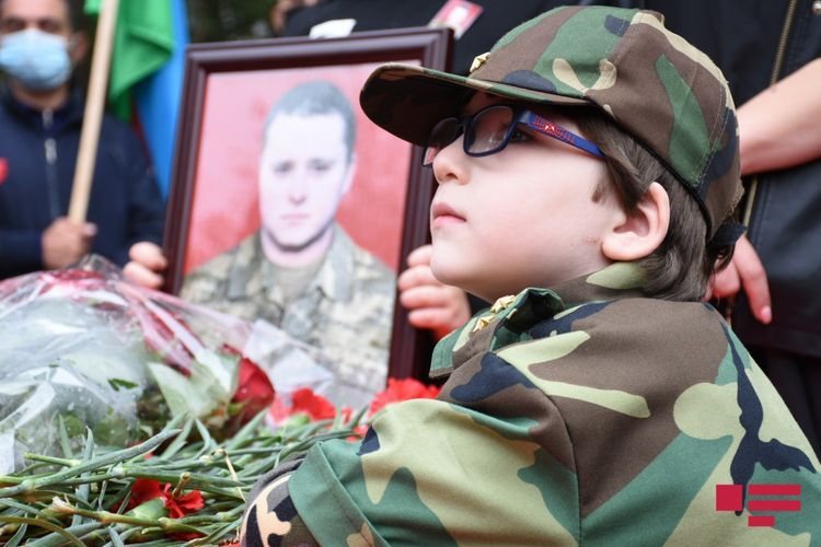 Martyred serviceman of Azerbaijani Army Dmitry Solnsev buried - UPDATED - 1 - PHOTO - VIDEO