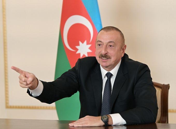 Президент Азербайджана: Разве у этих трех стран недостаточно возможностей для того, чтобы указать агрессору на его место? Они не хотели этого