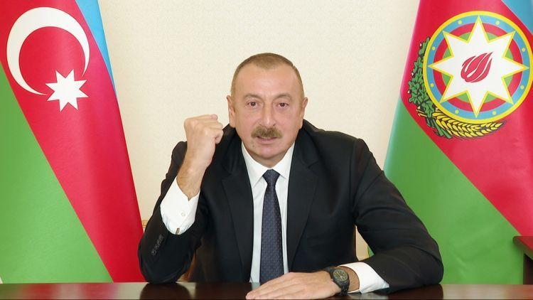 "Azerbaijani President: ""Those who want ceasefire, why send weapons to Armenia?"""