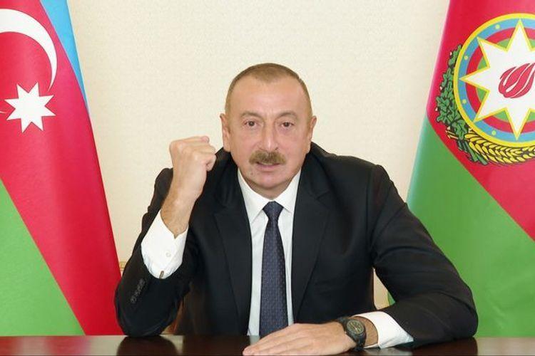 Президент Азербайджана: Если будет против нас агрессия извне, то они увидят эти F-16