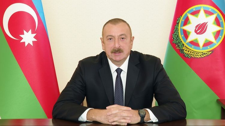 """Azerbaijani President: """"Who gave you so many weapons, why no one ask?"""""""