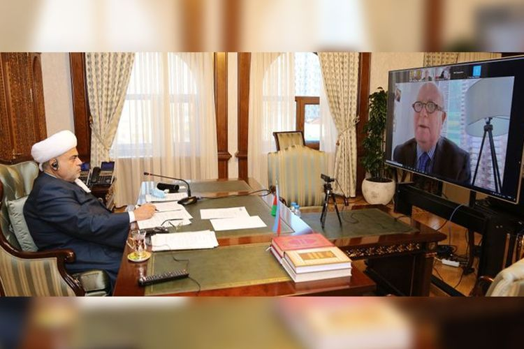Шейхульислам проинформировал заместителя генсека ООН о зверствах Армении