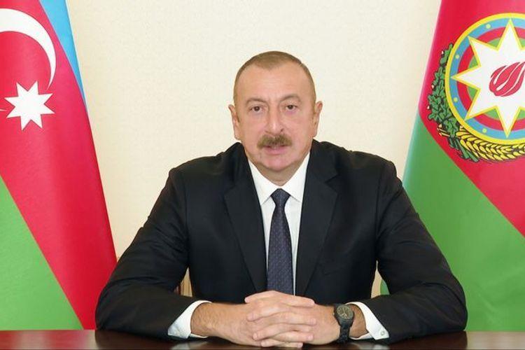 """Azərbaycan Prezidenti: """"Ermənistanı xilas etmək istəyirsinizsə, deyin ki, çıxsın torpağımızdan, dərhal rədd olsun"""""""