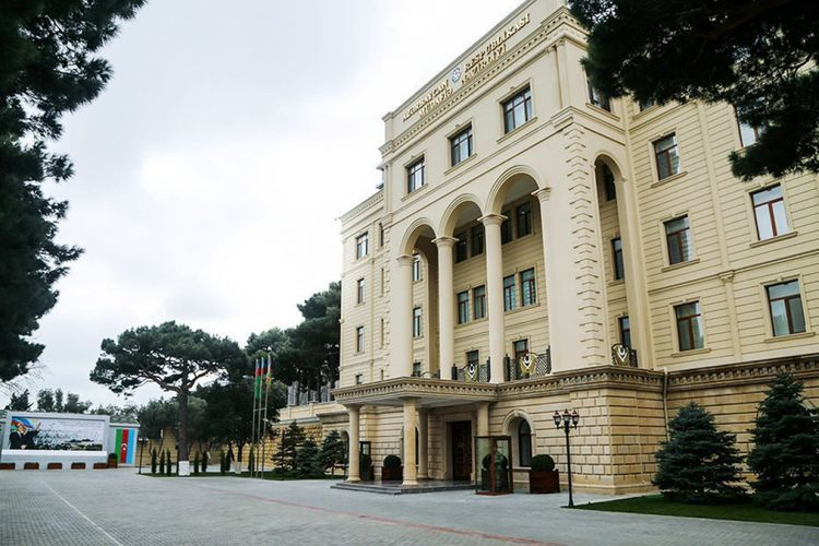 Azerbaijani MoD:  Enemy fired at Terter from Smerch MLRS
