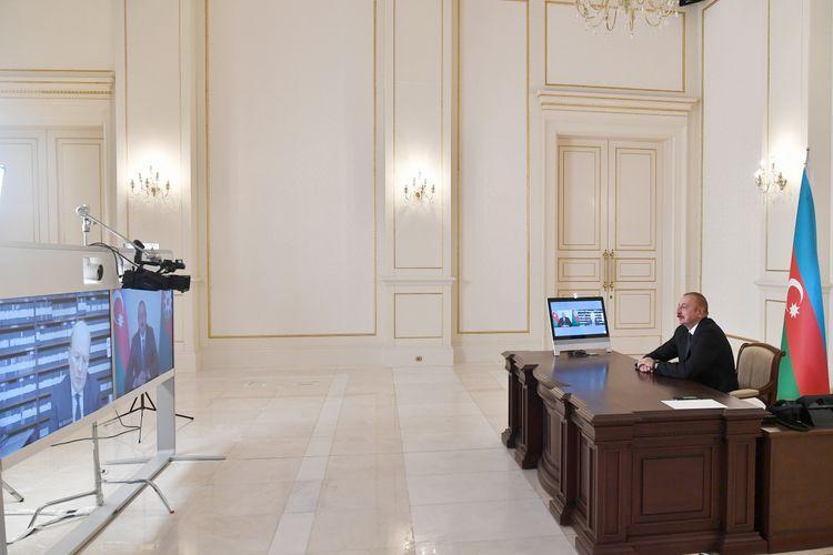 Azərbaycan Prezidenti İtaliyanın Rai-1 televiziya kanalına müsahibə verib