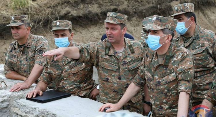 """So-called """"Defense Minister"""" of the """"NKR""""  wounded and dismissed"""