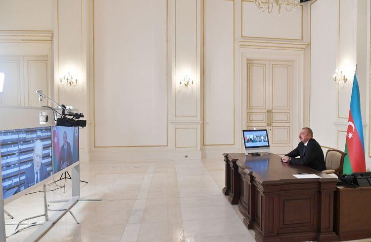 """Prezident İlham Əliyev: """"Konstruktiv yanaşma BMT Təhlükəsizlik Şurasının dörd qətnaməsinə əsaslanır"""""""