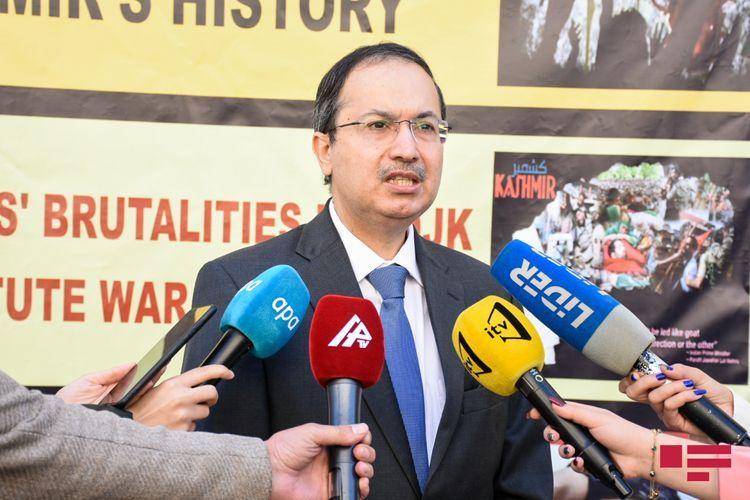 Посол Пакистана: Мы внимательно следим за тем, как отважная армия Азербайджана освобождает свои земли от оккупации