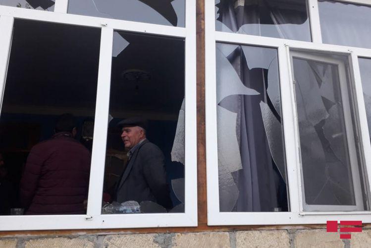 Ermənilərin atdığı raket Bərdədə yaşayış məntəqəsinə düşüb, ölən və yaralananlar var - FOTO