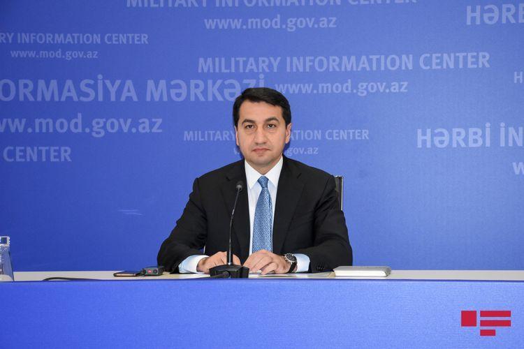 Помощник президента: После завершения оккупации ГПС  будет действовать в соответствующем порядке вдоль азербайджанской границы