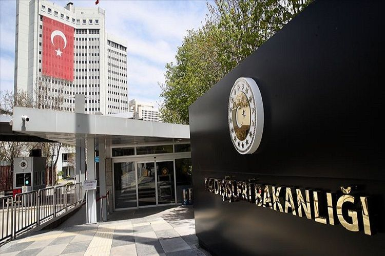 Turkish Foreign Ministry: The co-chairs remain silent on Armenia