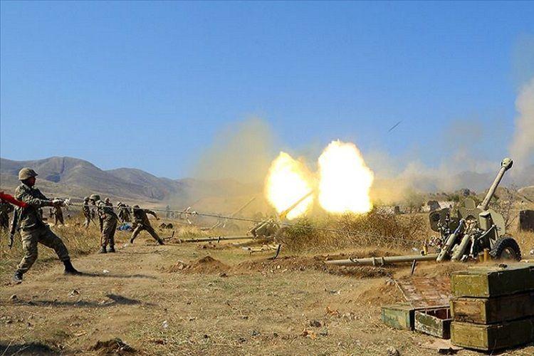 Минобороны Азербайджана назвало список уничтоженной за вчерашний день военной техники противника