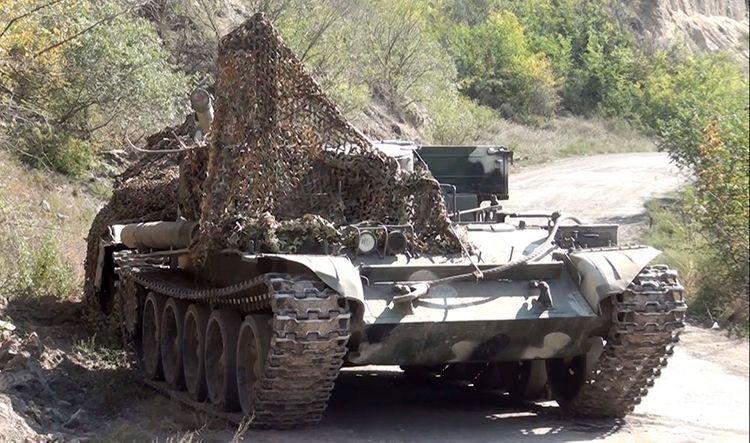 Военная техника и боеприпасы, оставленные противником при бегстве в ходе боев на Губадлинском направлении - ВИДЕО
