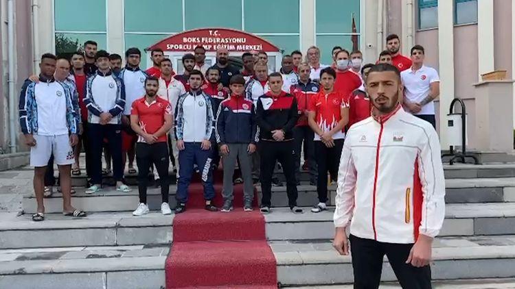 """Azərbaycan boksçuları: """"Rinqdəki qələbələr əsgərimizə həsr olunacaq"""" - VİDEO"""
