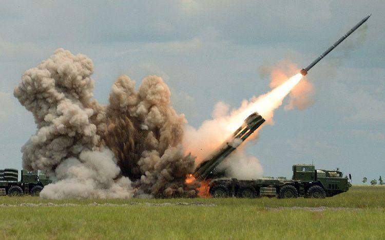 Armenians fired rockets at Goranboy