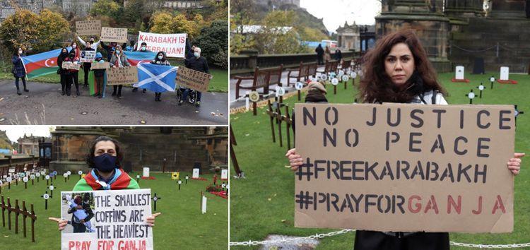 Rally condemning Ganja terror held in Edinburgh